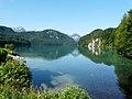 Schwangau - Hohenschwangau - Alpsee v N, Sommer.jpg