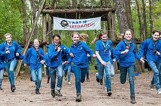 Scouting Nederland - Alternative uniform 2010-2018