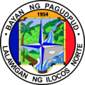 Seal of Pagudpud, Ilocos Norte.png