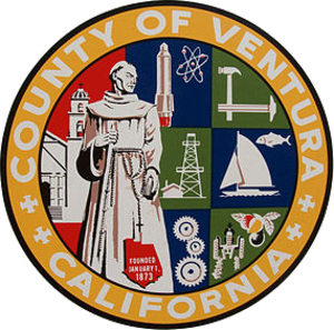 Ventura County Sheriff's Office - Image: Seal of Ventura County, California