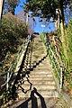 Seattle - steps near Pine Street pedestrian bridge in Madrona 01.jpg
