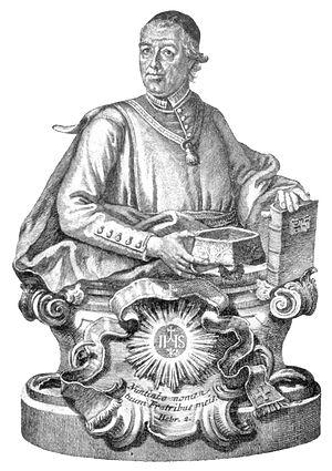 Sebastian Sailer - Portrait of Sebastian Sailer, by Gottfried Bernhard Göz
