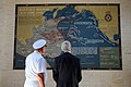 Secretary Kerry Examines a Battle Map at the Manila American Cemetery (11417930966).jpg