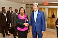 Secretary Kerry Poses for a Photo With Central African Republic Transitional President Samba-Panza (15176935658).jpg