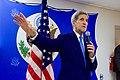 Secretary Kerry Speaks With Embassy Havana Staff and Family Members (19953393863).jpg