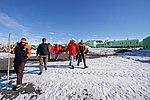 Secretary Kerry Walks Outside Scott Base, the New Zealand Research Station in the Antarctic (30812065772).jpg