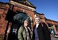 Secretary of State Karen bradley visits Belfast's St George's Market (40041035661).jpg