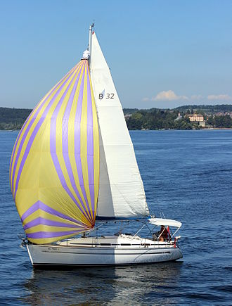 Sailboat - Sailboat on the Lake Constance, Germany.