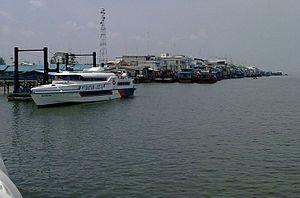 Selat Panjang - The port of Selat Panjang
