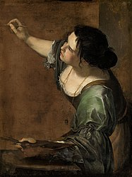Artemisia Gentileschi: Self-Portrait as the Allegory of Painting