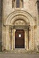 Semur en Brionnais-Église Saint Hilaire-20110212-Porche Nord.jpg