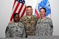 Sgt. Maj. of the U.S. Army Raymond F. Chandler III, center, poses for a photo with senior leaders from the Warrior Leader Course at Camp Buehring, Kuwait, April 1, 2012 120401-A-WD324-006.jpg