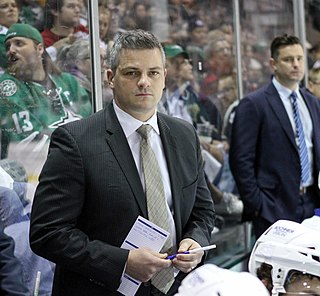 Sheldon Keefe Ice hockey player, coach, general manager