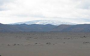 Trölladyngja - Image: Shield volcano iceland (cropped)