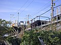 Shinkansen Otaka set-off line & evacuation space.jpg