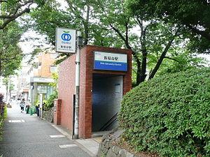 Shin-Sakuradai Station - Station entrance in May 2012
