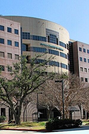Shriners Hospital for Children (Galveston) - Image: Shriners Hospital, Galveston