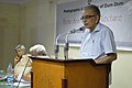 Shyamal Kumar Sen Addressing - Benu Sen Memorial Lecture - Kolkata 2015-05-26 1301.JPG