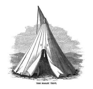 Sibley tent - Image: Sibley Tent 1859