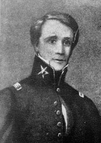 Sidney Sherman - General Sidney Sherman, circa 1843