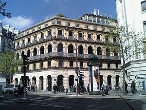 BNP-Paribas headquarters on boulevard des Ital...