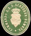 Siegelmarke Commando des Königlich Sächsischen Schützen - Regiments W0237734.jpg