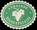 Siegelmarke Gemeinde Niederpoyritz W0314278.jpg