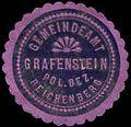 Siegelmarke Gemeindeamt Grafenstein - Pol. Bezirk Reichenberg W0308925.jpg