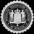 Siegelmarke Königlich Preussische Regierung zu Münster W0217249.jpg