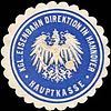 Siegelmarke Königliche Eisenbahn Direktion in Hannover - Hauptkasse W0219506.jpg