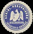 Siegelmarke K.Pr. Stellvertr. 69. Infanterie Brigade W0346833.jpg
