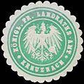 Siegelmarke K. Pr. Landraths-Amt Bad Kreuznach W0383932.jpg