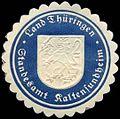 Siegelmarke Land Thüringen Standesamt Kaltensundheim W0310380.jpg