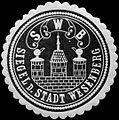 Siegelmarke Siegel der Stadt Wesenberg W0312712.jpg