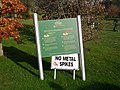 Sign, Druids Glen Golf Club - geograph.org.uk - 1589057.jpg