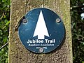 Sign for the Jubilee Trail - geograph.org.uk - 449314.jpg