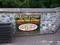 Sign in Trago Mills - geograph.org.uk - 2038046.jpg