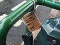Sign on pump in Lauttasaari.jpg