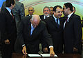 Signing of provisional measures for 2014 FIFA World Cup & 2016 Summer Olympics 2010-07-19 6.jpg