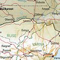 Silistra Dulowo Bulgaria 1994 CIA map.jpg