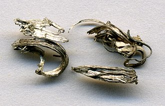 Aspen, Colorado - Silver wire specimens from the historic Mollie Gibson Mine near Aspen