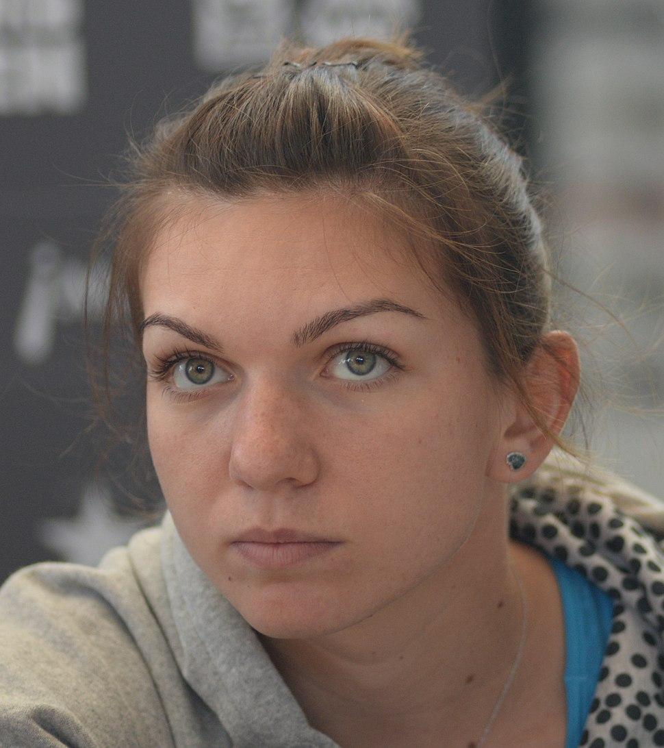 Simona Halep at Madrid Open 2014