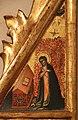 Simone dei crocifissi (attr.), sportelli con annunciazione e quattro santi, 1355-90 ca. 03.jpg