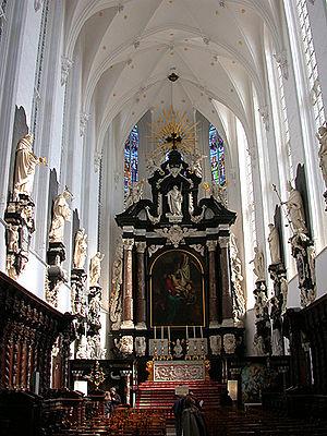 St. Paul's Church, Antwerp - Interior of the St. Paul's Church