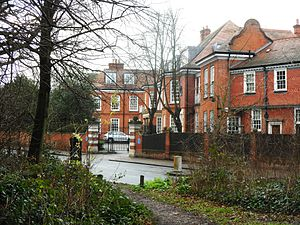 Ronald Fisher - Inverforth House North End Way NW3, where Fisher lived from 1896 to 1904