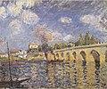 Sisley - Flussdampfer und Brücke - 1871.jpg