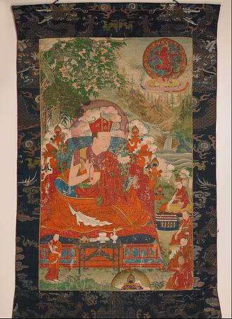 Shamarpa - Mipam Chokyi Wangchug, (1584-1630) the 6th Shamar Rinpoche, 16th-century painting from the Rubin Museum of Art