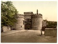 Skipton Castle, gateway, Yorkshire, England-LCCN2002708331.tif
