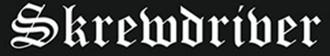 Skrewdriver - Image: Skrewdriver logo