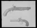 Slaglåspistol, C. G. Granberg, Eskilstuna ca 1850, serienr 37 - Livrustkammaren - 53745.tif